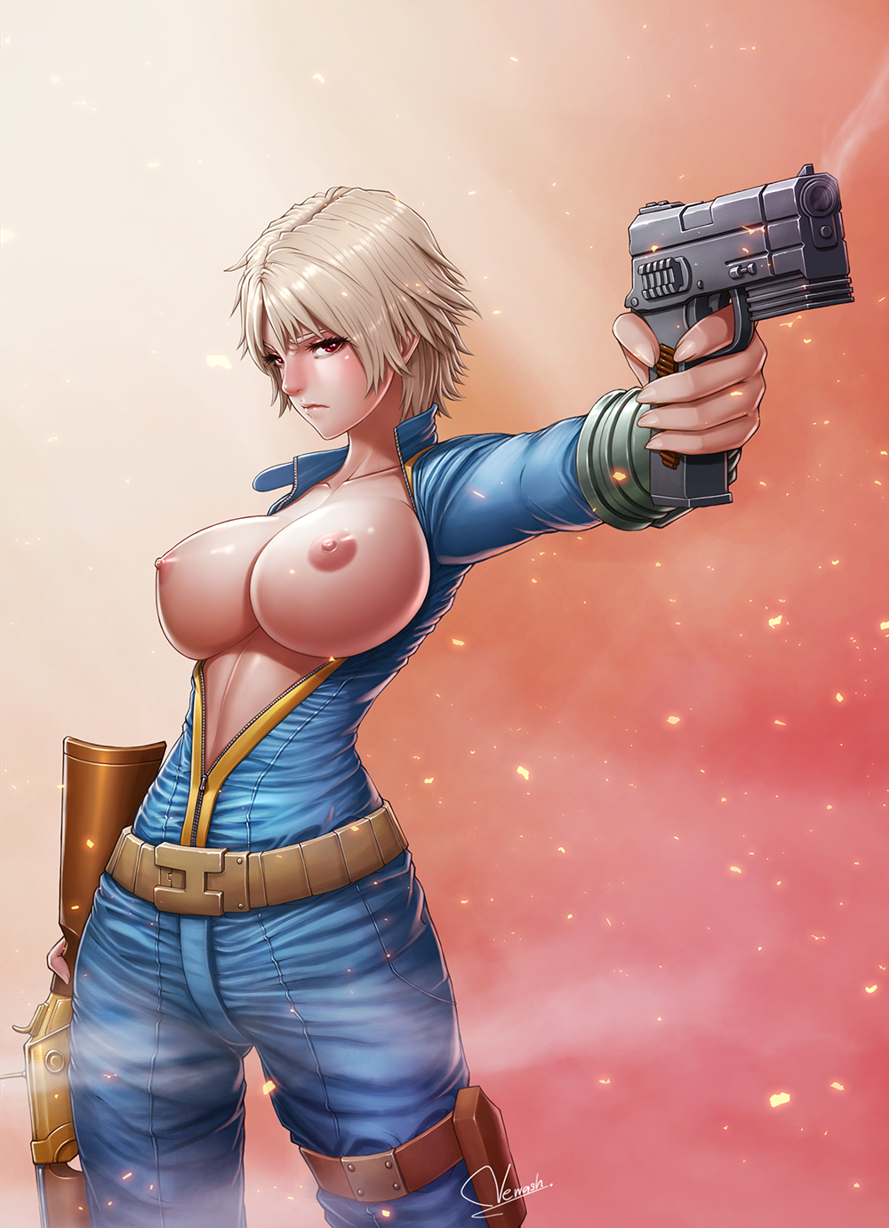 male fallout sole survivor 4 Nude beauty and the beast