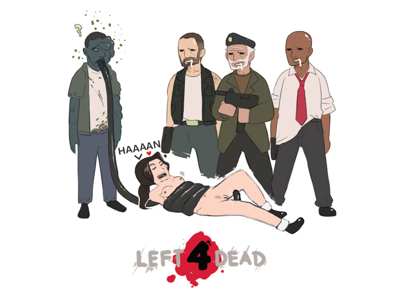 left 2 dead spitter for Conkers bad fur day boobs