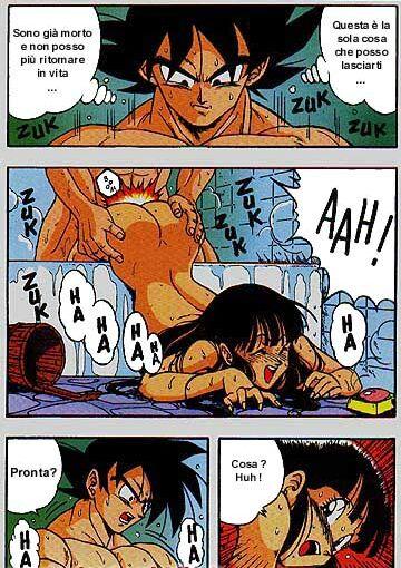 fanfiction caulifla and goku lemon Arashi no yoru ni mei