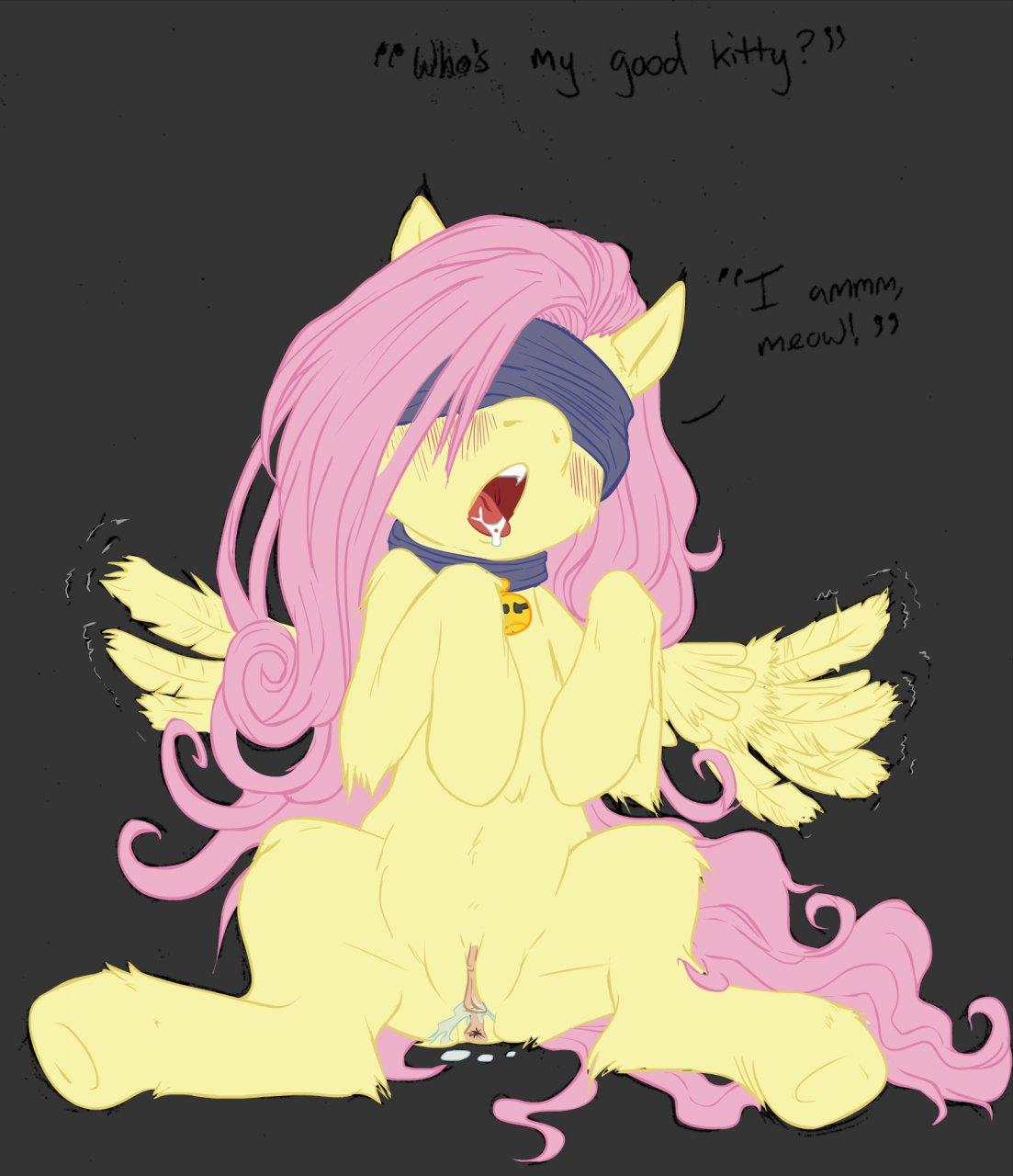 little pony fluttershy my Night in the woods gregg fanart