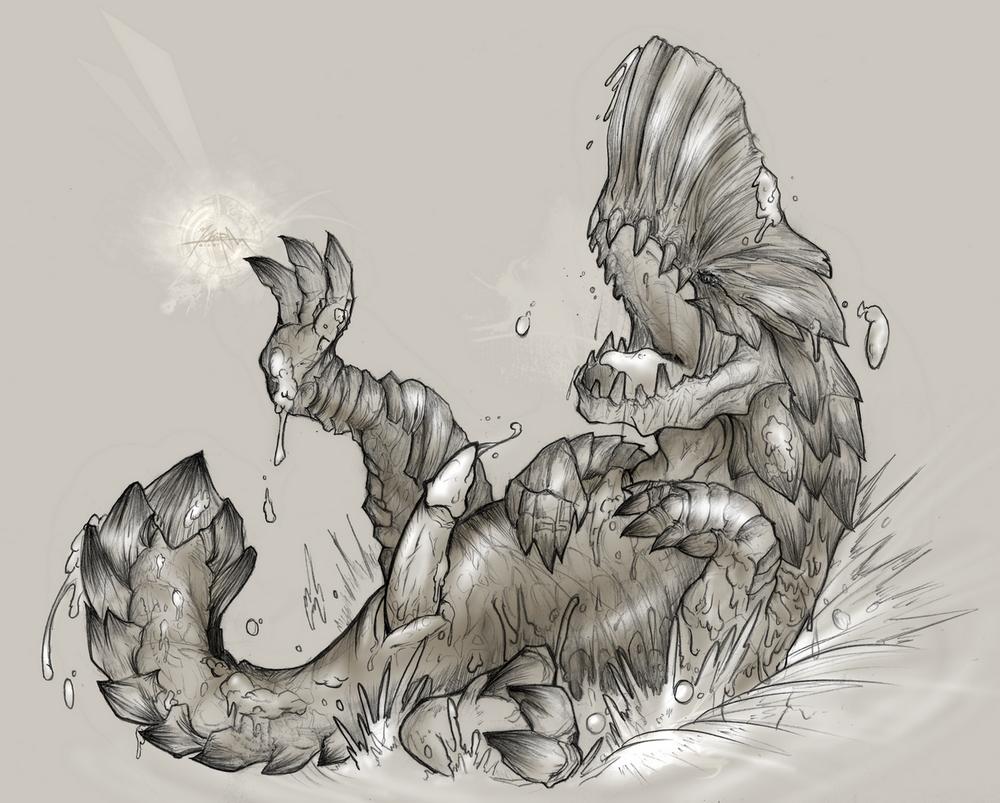 hunter world monster bat fluffy Tabi_no_robo_kara