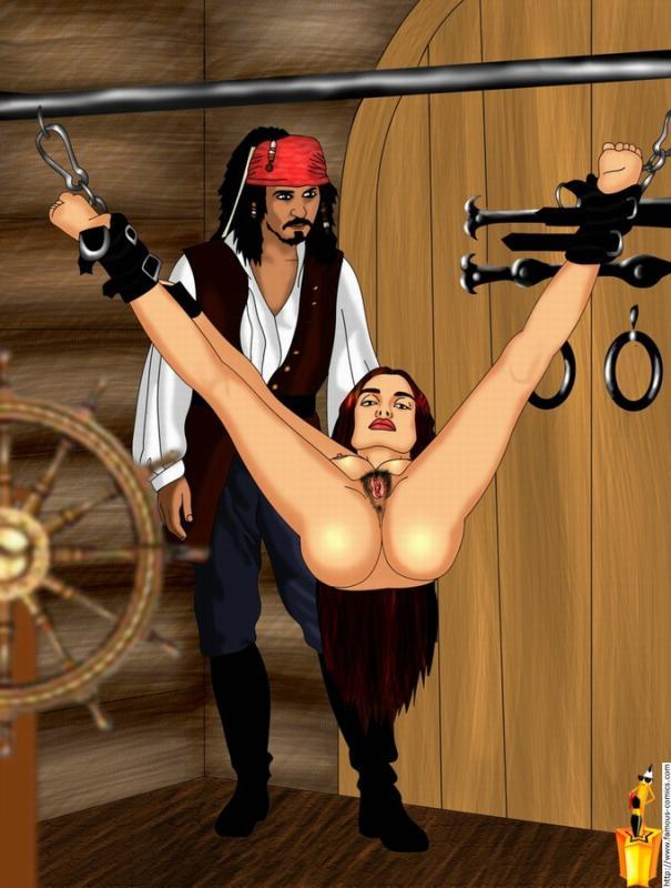 and of the 5 pintel ragetti pirates caribbean Honoo no haramase oppai ero