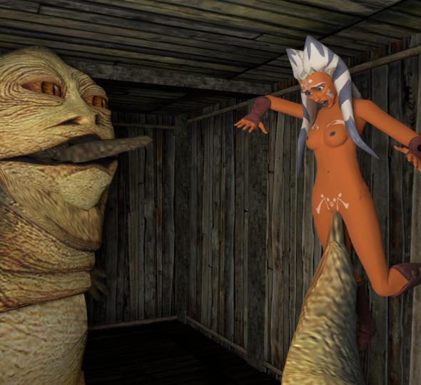 naked tano star ahsoka wars Dragon ball z chi chi nude