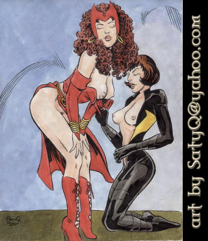 elizabeth olsen porn witch scarlet Trails of cold steel scarlet