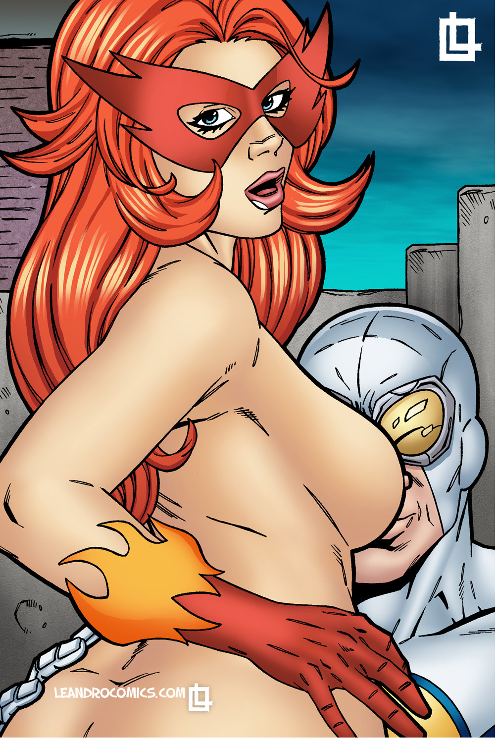 (marvel comics) firestar Isekai maou to shoukan shoujo no dorei majutsu (uncensored)