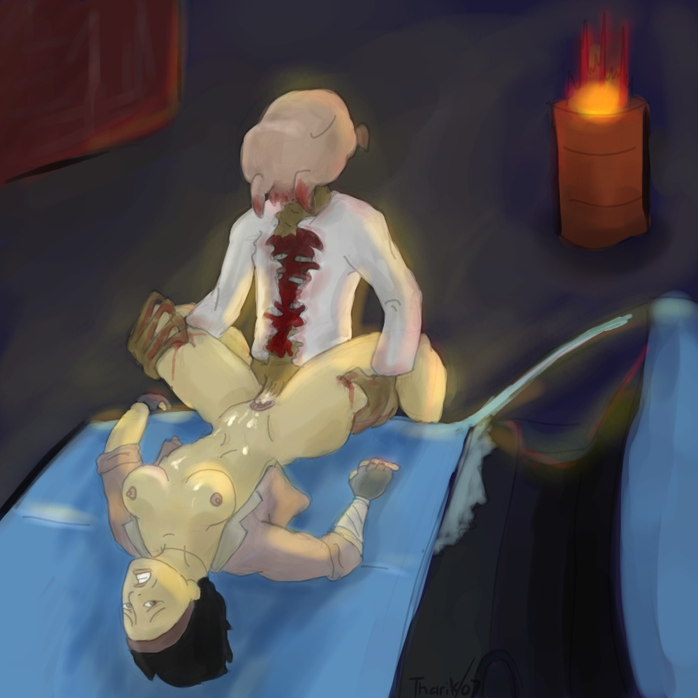 this kyoko zombie is a Xenoblade x elma heart to heart