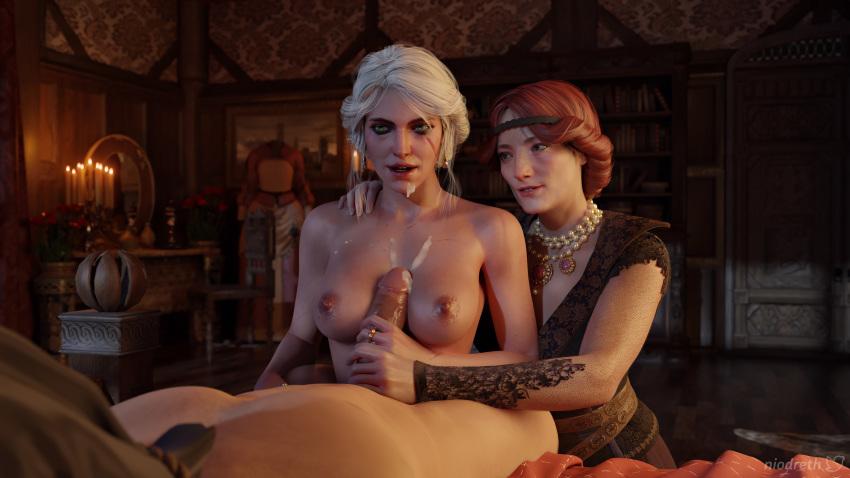 3 the witcher naked ciri Koi to xx no femdom