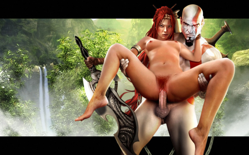 war of 4 god porn Cute red head anime girl