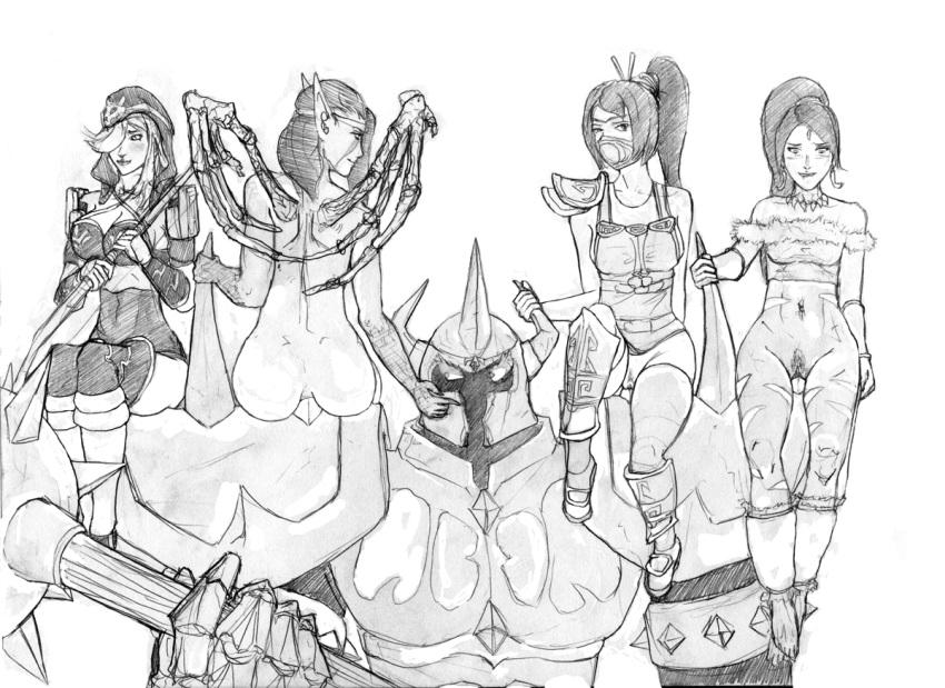 porn neeko league legends of Rainbow six siege ela