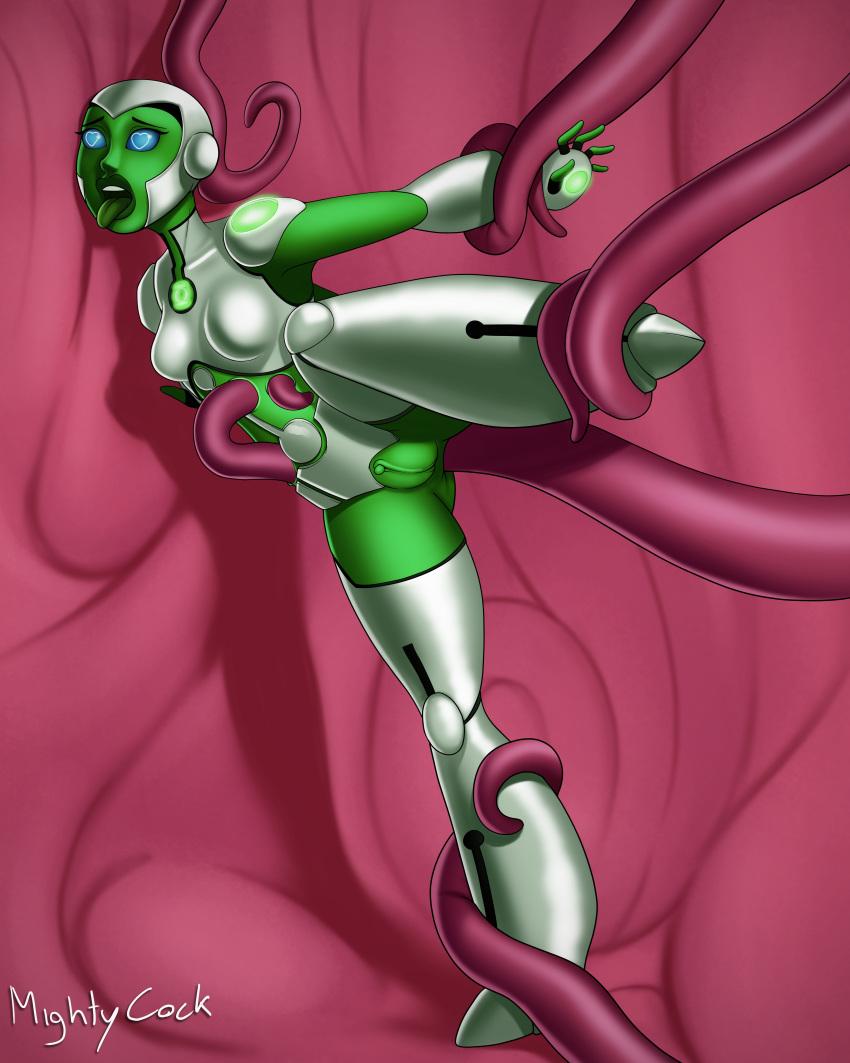 m&m green naked Victorian maid maria no hoshi
