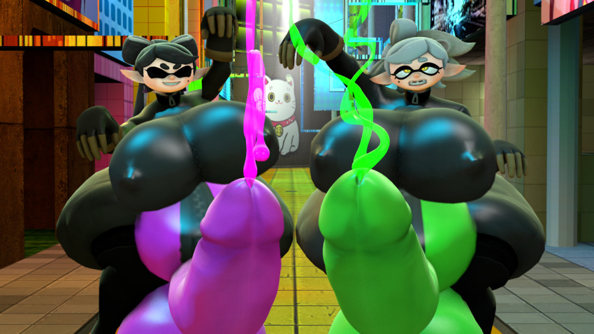 callie splatoon porn and marie How old is ashley from warioware