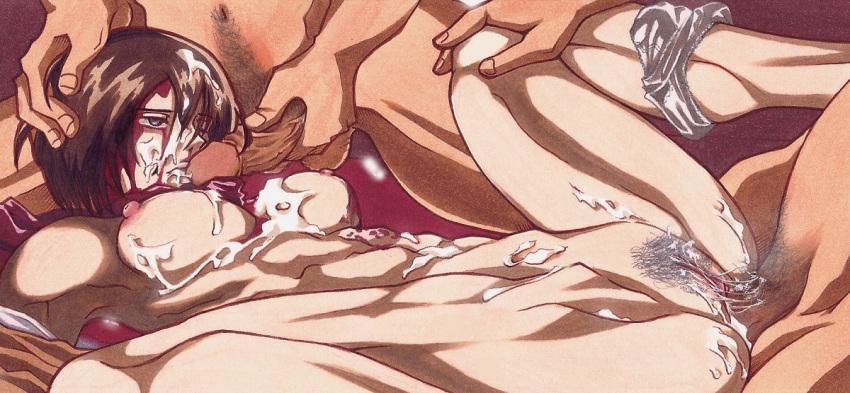 swimsuit titan attack on mikasa Fire emblem female robin hentai
