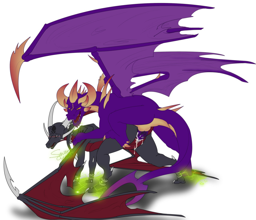 spyro dragon of bianca year the Goblin slayer x cow girl