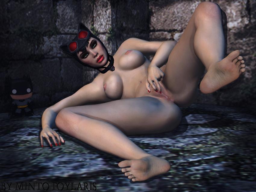naked arkham city catwoman batman Koinaka koinaka x nakadashi sexual life