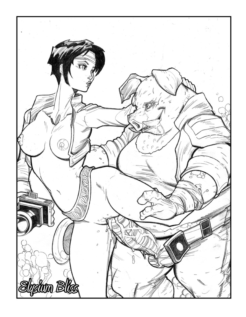 orc-san and knight Valkyria chronicles 4 hot springs
