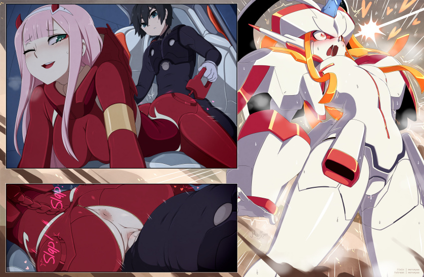 franxx hiro darling the in Wild west cow boys of moo mesa