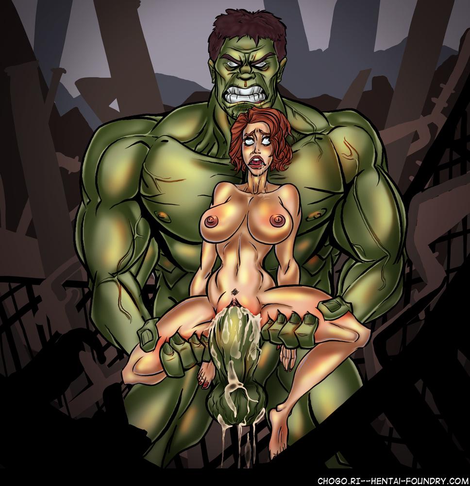 hulk widow porn gif black Dan and mab's furry adventures