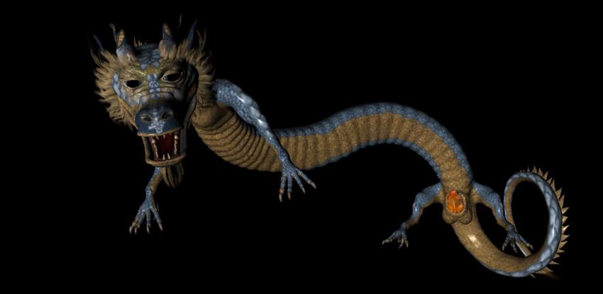 form shyvana scale iron dragon Kikurage (crayon arts)