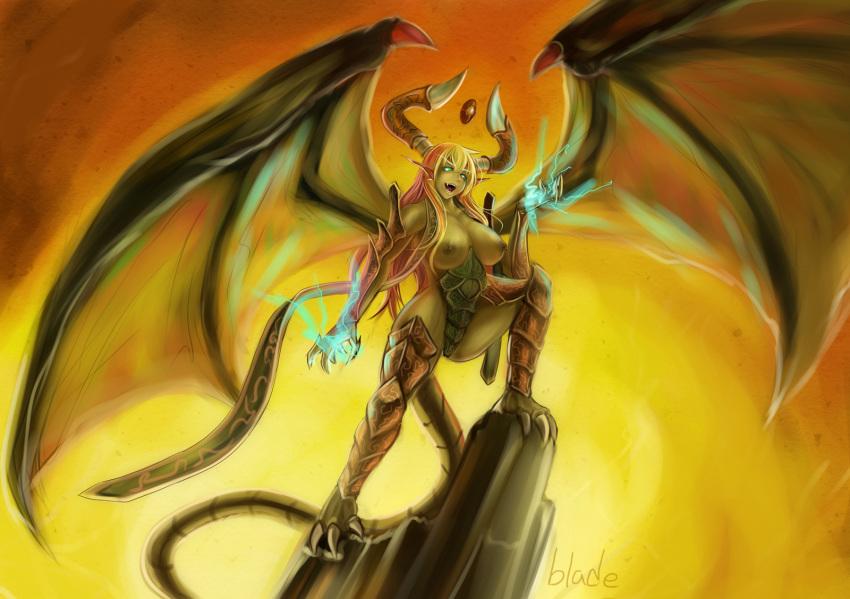 shyvana dragon form iron scale 4chan doki doki literature club