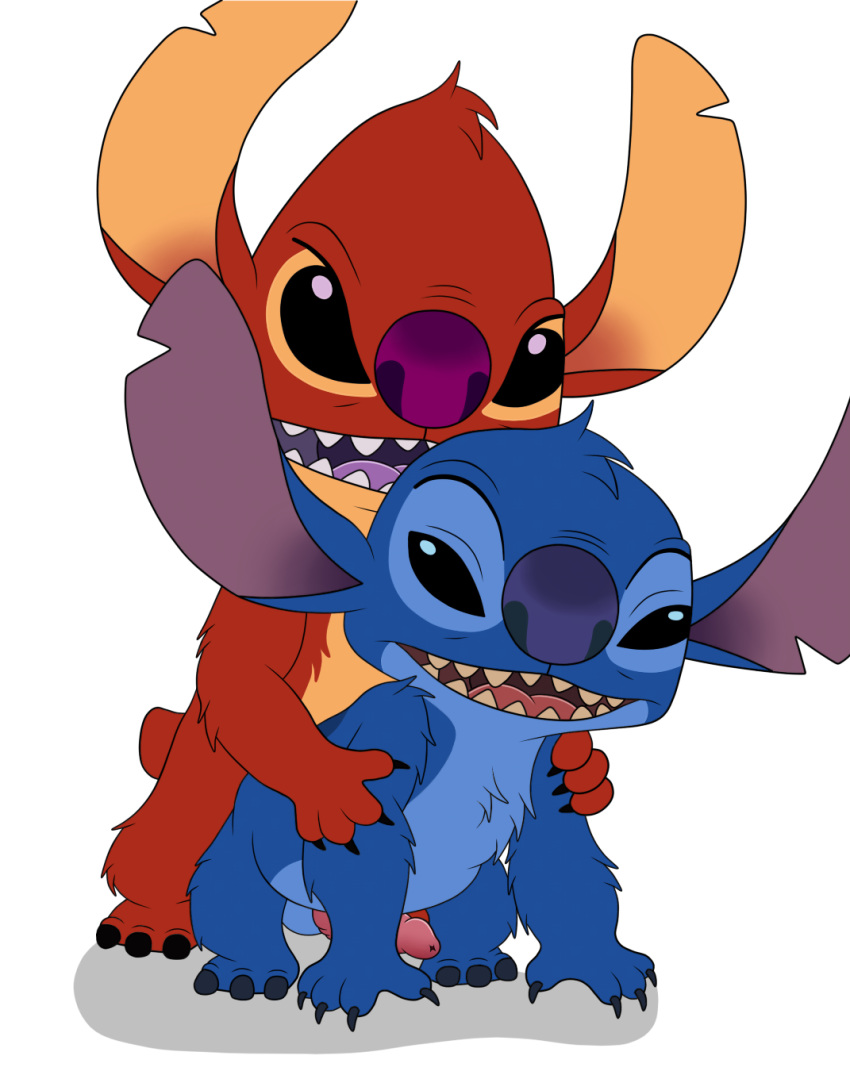 stitch and naked nani lilo from Clifford the big red dog hentai